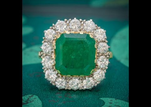 ANTIQUE_VICTORIAN_EMERALD_DIAMOND_CLUSTER_RING_18CT_GOLD_4.50CT_EMERALD_CIRCA_1900_cover