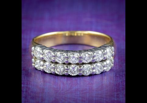 Vintage-Diamond-Eternity-Band-Ring-1.40ct-Of-Diamond-COVER