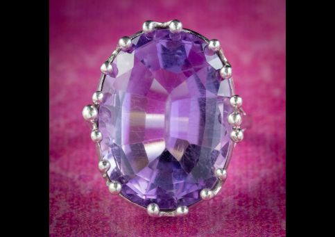 Vintage-Amethyst-Cocktail-Ring-12ct-Amethyst-Circa-1960-cover