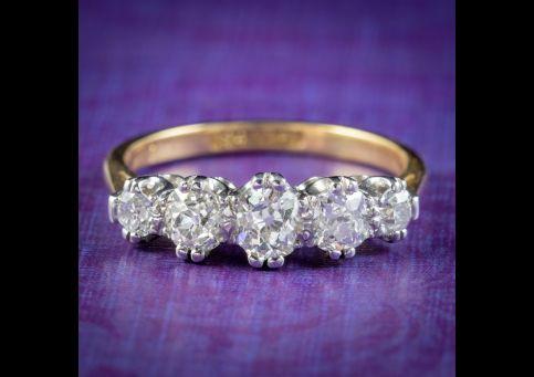 Antique-Edwardian-Diamond-Ring-1.40ct-Of-Diamond-Circa-1905-cover
