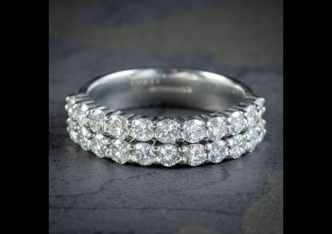 Diamond-Half-Eternity-Ring-Platinum-1.76ct-Of-Diamond-cover