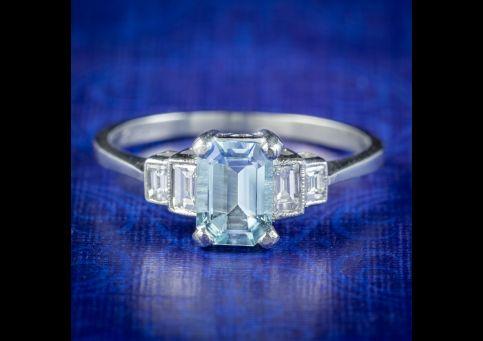 Art-Deco-Style-Aquamarine-Diamond-Ring-1ct-Aqua-cover