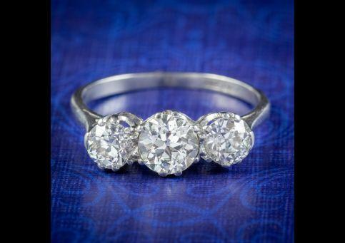 Antique-Edwardian-Diamond-Trilogy-Ring-1.65ct-Of-Diamond-Circa-1905-cover