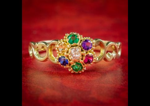 Antique-Victorian-Gemstone-Dearest-Ring-Circa-1860-cover