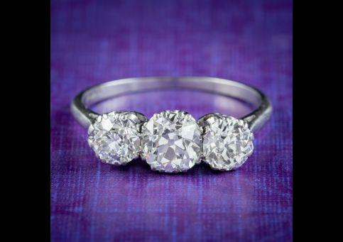 Antique-Edwardian-Diamond-Trilogy-Ring-2ct-Diamond-Circa-1905-cover