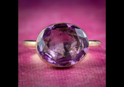 Antique-Georgian-Purple-Paste-Ring-Circa-1790-cover