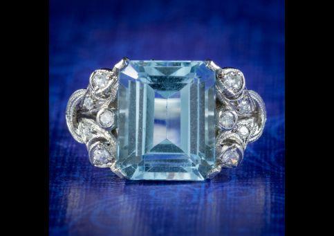 Art-Deco-Aquamarine-Diamond-Ring-5ct-Aqua-Circa-1920-COVER