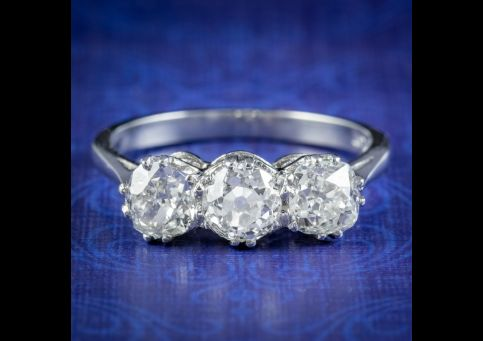 Antique-Edwardian-Diamond-Trilogy-Ring-2.10ct-Of-Diamond-Circa-1905-cover