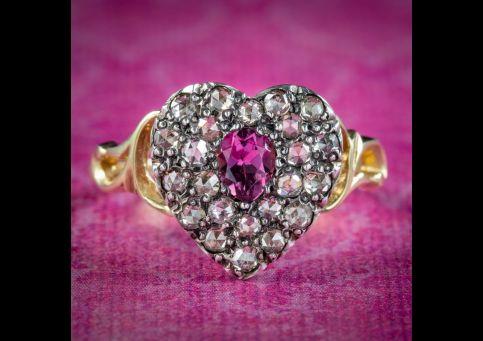 Georgian-Style-Pink-Sapphire-Diamond-Heart-Ring-cover