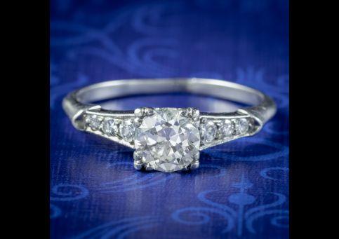 Art-Deco-Diamond-Solitaire-Ring-1ct-Of-Diamond-Circa-1920-cover