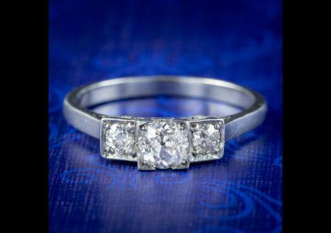 Art-Deco-Diamond-Trilogy-Ring-0.75ct-Of-Diamond-Circa-1920-cover