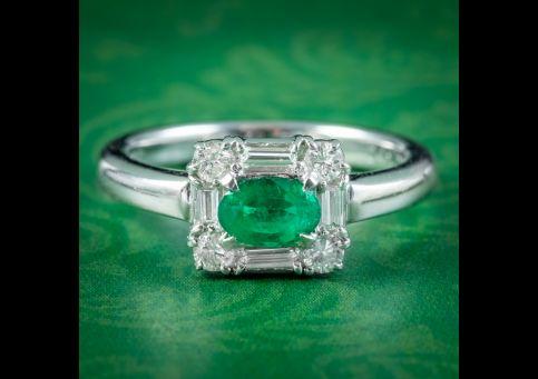 Art-Deco-Style-Emerald-Diamond-Ring-0.41ct-Zambian-Emerald-cover