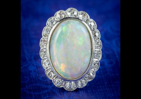 Vintage-Opal-Diamond-Ring-6ct-Opal-Circa-1940-cover