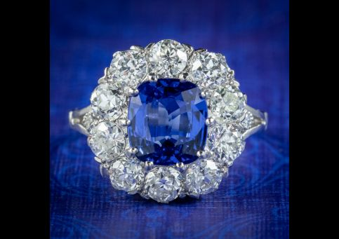 Edwardian-Style-Sapphire-Diamond-Cluster-Ring-3.25ct-Sapphire-COVER