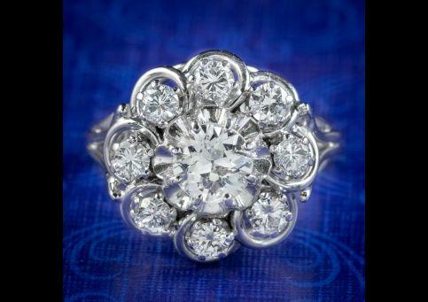 Art-Deco-French-Diamond-Cluster-Ring-1.85ct-Of-Diamond-Circa-1920-cover