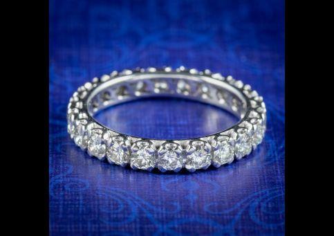 Antique-Edwardian-Diamond-Full-Eternity-Ring-2.50ct-Of-Diamond-Circa-1915-cover