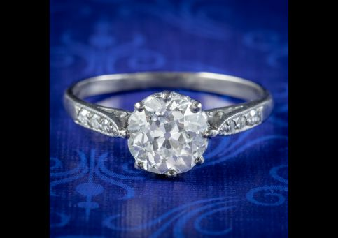 Antique-Edwardian-Diamond-Solitaire-Ring-1.46ct-Diamond-Circa-1910-cover