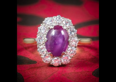 ANTIQUE_VICTORIAN_CABOCHON_STAR_RUBY_DIAMOND_RING_CIRCA_1900_COVER