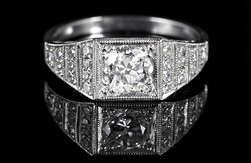 Art Deco Engagement Rings (1920-1935)